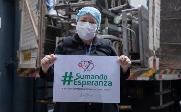 Donación de camas al Hospital Nacional Daniel Alcides Carrión