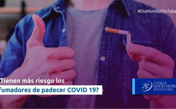¿Tienen más riesgo los fumadores de padecer COVID-19?