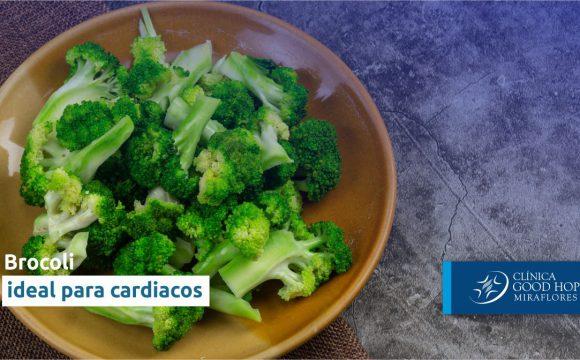 Brócoli – ideal para cardíacos