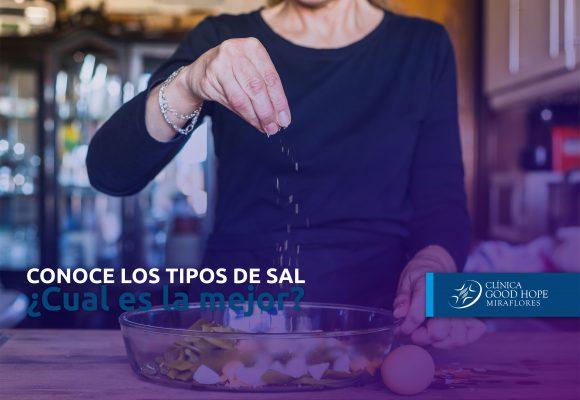 CONOCE LOS TIPOS DE SAL ¿Cuál es la mejor?