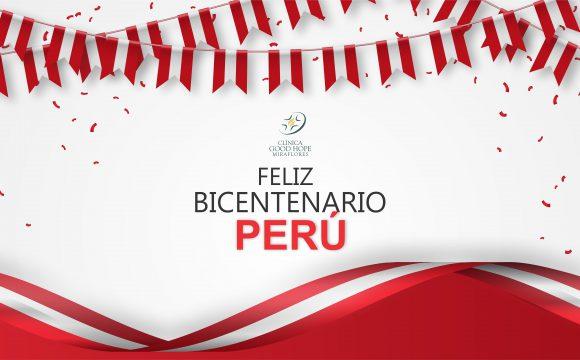 Saludo por Bicentenario del Perú, Dr. Davi Reis Lopes, director general.