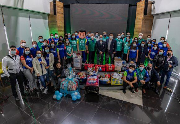ADRA Perú dona alimentos a las familias que se atenderán en el Servicio Social Adventista Good Hope en Villa María