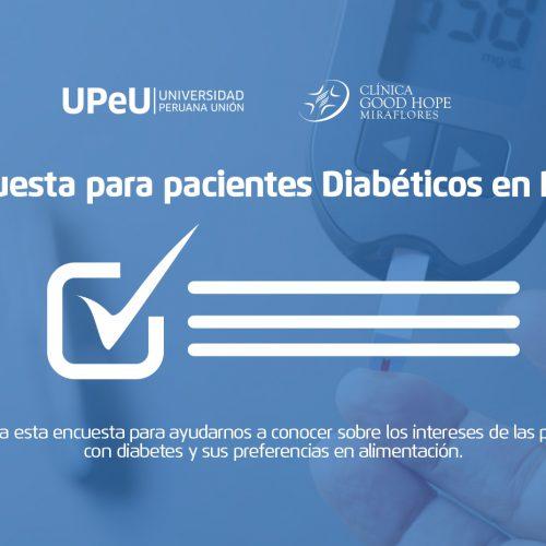 Encuesta para personas con diabetes
